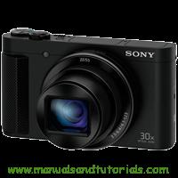 Sony DSC-HX90V Manual And User Guide PDF