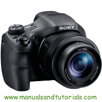 Sony DSC-HX350 Manual And User Guide PDF
