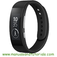 Sony SmartBand 2 Manual And User Guide PDF