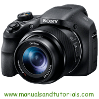 Sony DSC-HX300 Manual And User Guide PDF