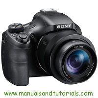 Sony DSC-HX400V Manual And User Guide PDF