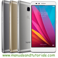 Honor 5X Manual And User Guide PDF
