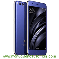 Xiaomi Mi 6 Manual And User Guide PDF