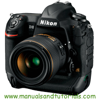 Nikon D5 Manual And User Guide PDF