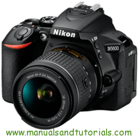 Nikon D5600 Manual And User Guide PDF