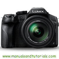 Panasonic FZ300 Manual And User Guide PDF