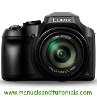 Panasonic FZ82 Manual And User Guide PDF
