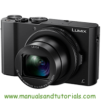 Panasonic LX15 Manual And User Guide PDF