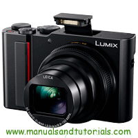 Panasonic Lumix TZ200 Manual And User Guide PDF