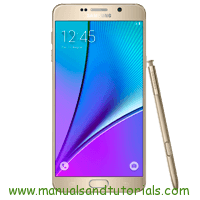 Samsung Galaxy Note 5 Manual And User Guide PDF