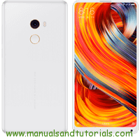 Xiaomi Mi MIX 2 Manual And User Guide PDF