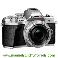 Olympus E-M10 Mark II Manual And User Guide PDF