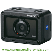 Sony DSC-RX0 Manual And User Guide PDF