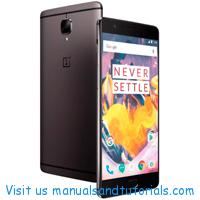 OnePlus 3T Manual And User Guide PDF