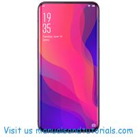 Oppo Find x Manual And User Guide PDF