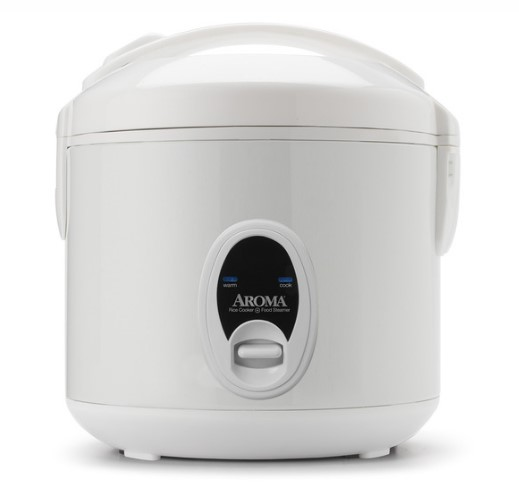 Cool-Touch Rice Cooker & Food Steamer (8 Cup Model ARC-614BP)