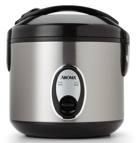 Cool-Touch Rice Cooker & Food Steamer (8 Cup Model ARC-914SB)