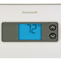 Deluxe Digital Non-Programmable Thermostat - 3 inch color