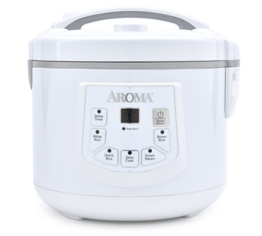 Digital Cool-Touch Rice Cooker, Food Steamer & Slow (12 Cup Model ARC-936D)