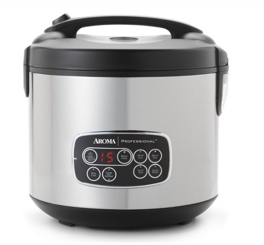 instructions guide Digital Cool-Touch Rice Cooker, Food Steamer & Slow Cooker (20-Cup Model ARC-3000SB)