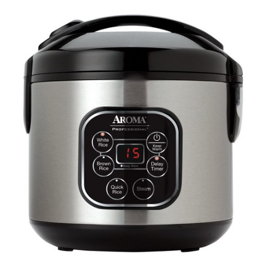 guide Digital Rice Cooker & Food Steamer (8-Cup Model ARC-964SBD)