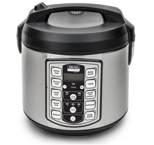 instructions guide Digital Rice Cooker, Food Steamer & Slow Cooker (20-Cup Model ARC-5000SB)