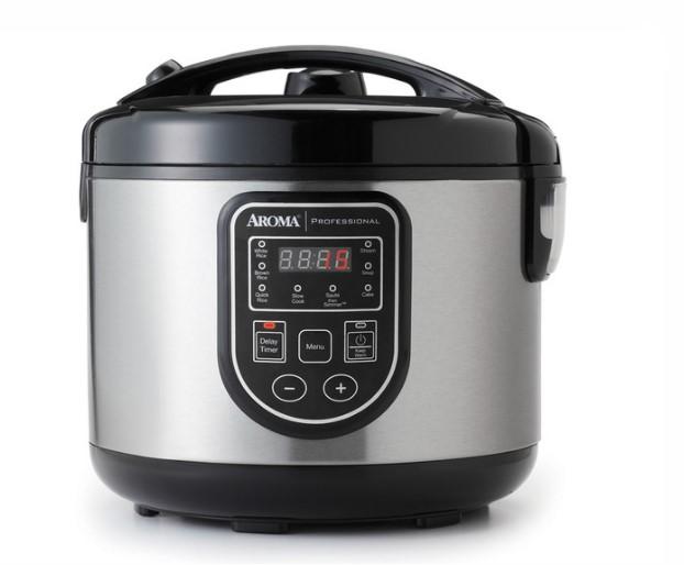user guide Digital Rice Cooker, Food Steamer & Slow Cooker (20-Cup Model ARC-980SB)