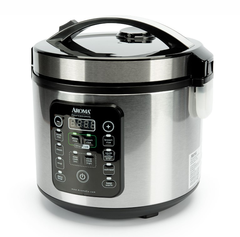Digital Rice Cooker (20 Cup Model ARC-1120SBL user guide