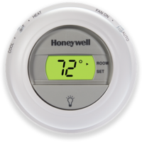 Digital The Round Non-Programmable Thermostat (T8775X)