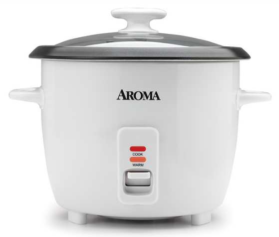 Pot-Style Rice Cooker & Food Steamer (14 Cup Model ARC-327NGP)