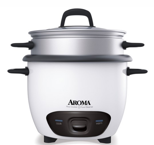 Pot-Style Rice Cooker & Food Steamer (14 Cup Model ARC-747-1NG)