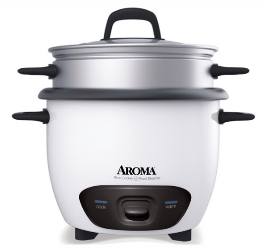 Pot-Style Rice Cooker & Food Steamer (6 Cup Model ARC-743-1NG)