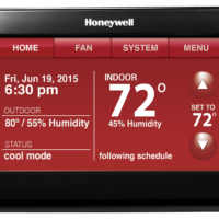 Wi-Fi 9000 with Voice Control - 7-Day Programmable Thermostat manual